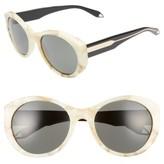 Victoria Beckham Women's Fine Oval 59Mm Sunglasses - Black/ Black