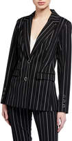 Laundry by Shelli Segal Pinstripe Ponte Blazer