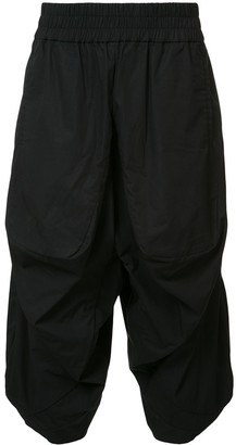 Private Stock Drop-Crotch Cropped Trousers