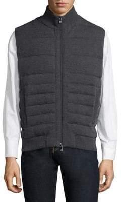 Corneliani Quilted Knit Vest
