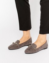 London Rebel Bar Slipper Shoes