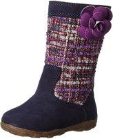 Stride Rite Mira Sweater Boot (Toddler/Little Kid), Navy, Toddler