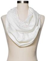 Merona Women's Fashion Floral Scarf White