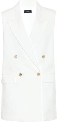 Joseph Zappa Cotton-blend vest
