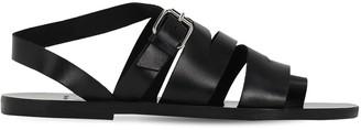 Mattia Capezzani Schiava Leather Sandals