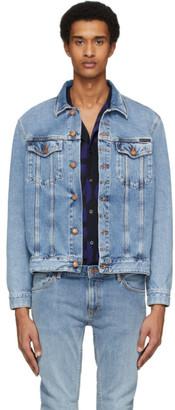 Nudie Jeans Indigo Denim Jerry Gaze Jacket