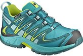 Salomon XA Pro 3D CSWP Trail Running Shoes, Deep Peacock Blue, Synthetic/Textile, Size: 26