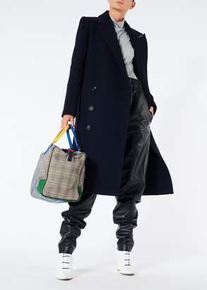 Tibi Giles Wool Double Breasted Coat