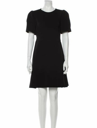Prada Virgin Wool Mini Dress Wool