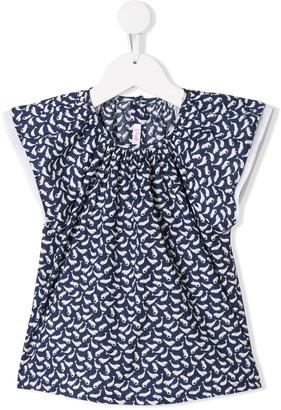 Il Gufo whale print T-shirt