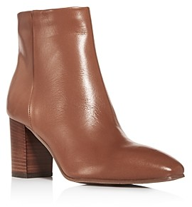 Aquatalia Women's Florita Weatherproof Square-Toe Block-Heel Booties