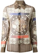 Jean Paul Gaultier Vintage abstract print shirt