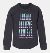 Under Armour Girls' Toddler UA Dream Believe Achieve Waffle