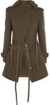 Alexander McQueen Wool-felt Jacket - Army green
