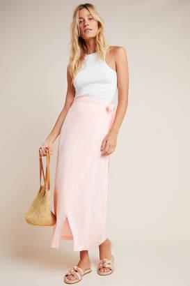 Cloth & Stone Wrap Maxi Skirt