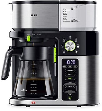 Braun Multiserve 10-Cup Certified Coffee Maker With Internal Water Spout & Glass Carafe