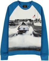 Finger In The Nose Hank Car Sweatshirt