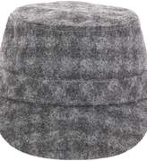 Anthony Peto Checked Wool Hat