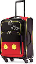 """American Tourister Disney Mickey Mouse Pants 21"""" Spinner Suitcase"""