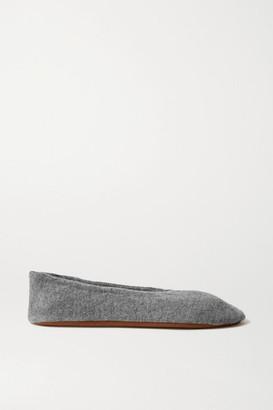 Skin Cashmere Ballet Flats - Gray
