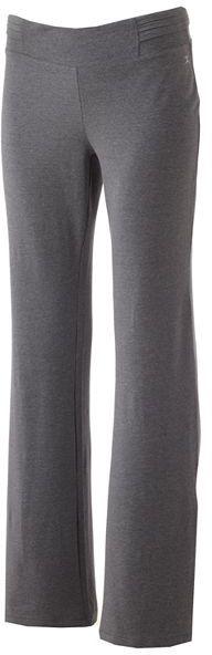 Danskin piped bootcut pants