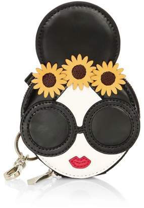 Alice + Olivia Evy Staceface Leather Coin Pouch