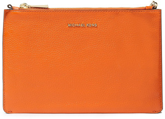 MICHAEL Michael Kors Pebbled-leather Pouch