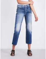 Frame Ladies Light Blue Vintage Straight High-Rise Jeans
