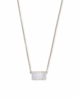 Kendra Scott Pattie Pendant Necklace in Silver