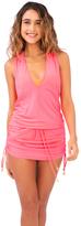 Luli Fama L177979 Cosita Buena Cover Ups T-Back Mini Dress