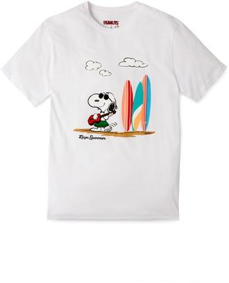 Reyn Spooner Ukelele Snoopy Graphic Tee