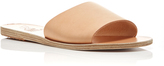 Ancient Greek Sandals Taygete Tan Leather Slip On Sandals