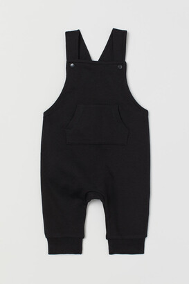 H&M Cotton Overalls - Black