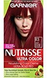 Garnier Nutrisse Ultra Color Nourishing Color Creme, R3 Light Intense Auburn (Packaging May Vary)