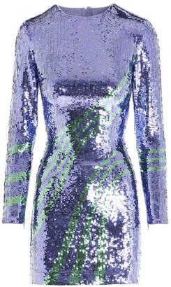 Pinko Sequins Wave Open-Back Dress