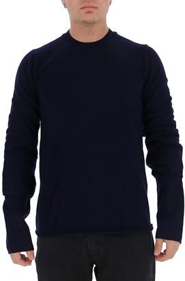 Comme des Garçons Shirt Layered Knitted Sweater