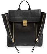 3.1 Phillip Lim 'Pashli' Leather Backpack - Black