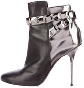 Pierre Hardy Round-Toe Embellished Ankle Boots