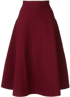 CASASOLA High Waisted Ribbed Skirt