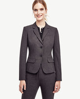 Ann Taylor Tall All-Season Stretch Two Button Jacket