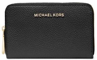 MICHAEL Michael Kors Small Jet Set Leather Card Case
