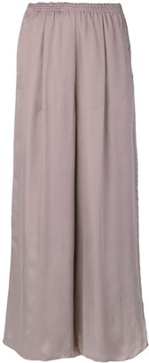 Forte Forte elasticated waistband wide-legged trousers