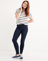 "Madewell Petite 9"" Mid-Rise Skinny Jeans in Larkspur Wash: TENCEL Denim Edition"