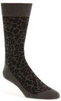 Alexander McQueen Men's Leopard Spot Socks