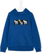 Paul Smith teen printed hoodie
