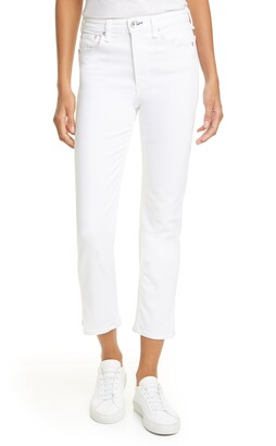 Rag & Bone Nina High Waist Ankle Cigarette Jeans
