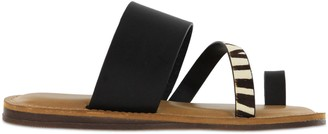 Mia Slip-On Toe-Loop Sandals - Becki