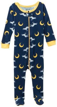 Leveret Wolf Footed Pajama Sleeper
