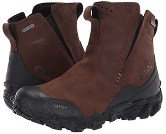 Oboz Big Sky Mid Insulated Slip-On (Bark Brown) Men's Slip on Shoes
