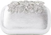 Dune Emberrs embellished clasp clutch bag